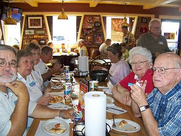 Picture taken at the Pizza Outing
